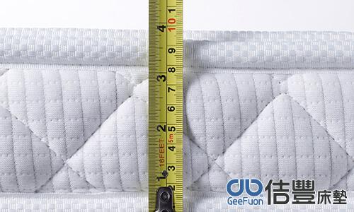 測量床墊厚度