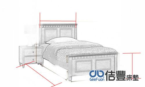 單人床墊尺寸標準與加大單人床的差異?分別是幾公分呢?