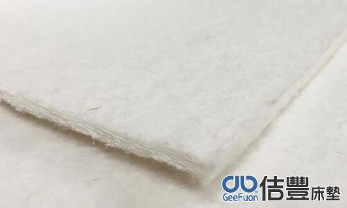 床墊純白纖維棉